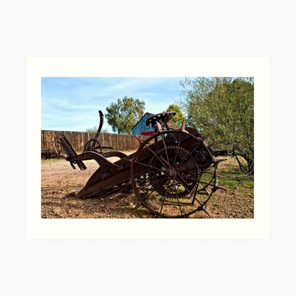 Farming Days are Done Art Print