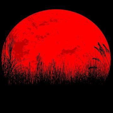 «lune rouge» par mayumiku
