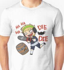 PewDiePie Die! Barrels! Die! Unisex T-Shirt