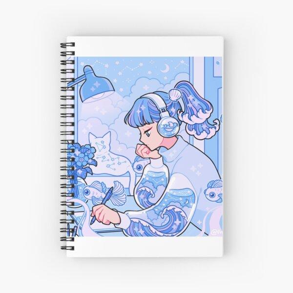 lofi hiphiop Spiral Notebook