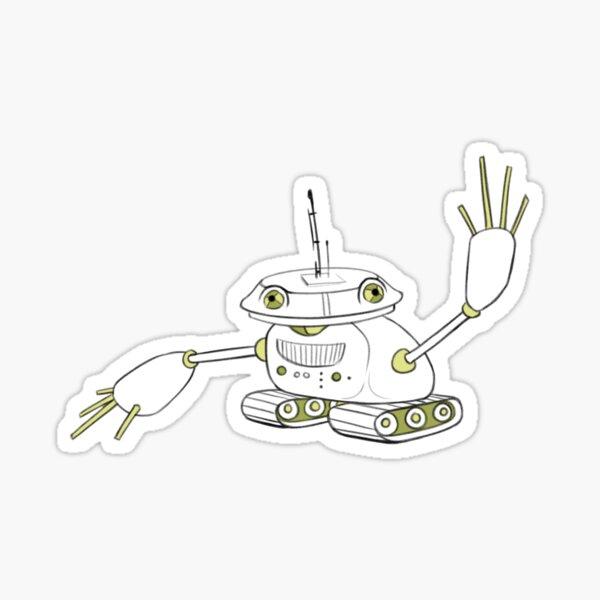 metal frog Sticker
