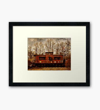 Hamptonburgh Caboose Framed Print