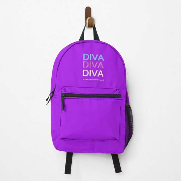 Diva Diva Diva Did you Know Backpack