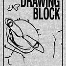 Cheryl's Drawing Block - Black by chemiro