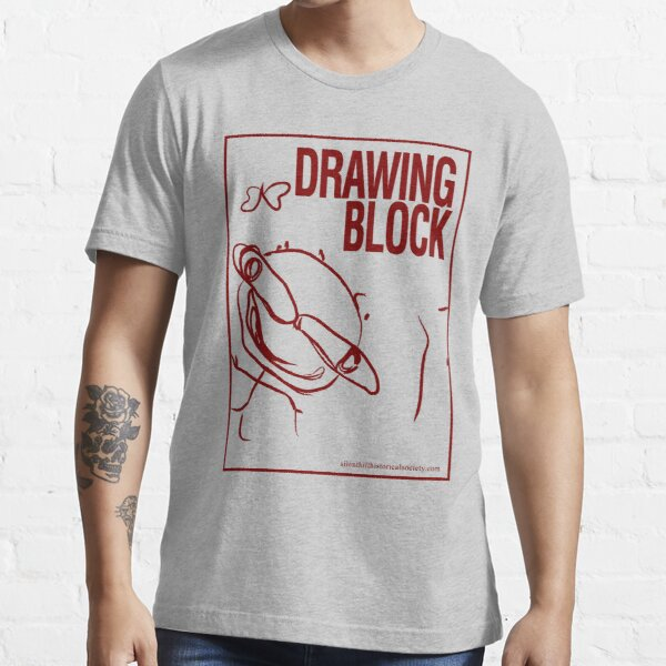 Cheryl's Drawing Block - Red Essential T-Shirt