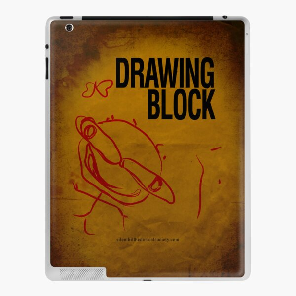 Cheryl's Drawing Block Sketchpad iPad Skin