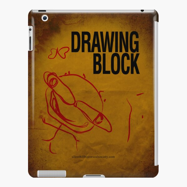 Cheryl's Drawing Block Sketchpad iPad Snap Case