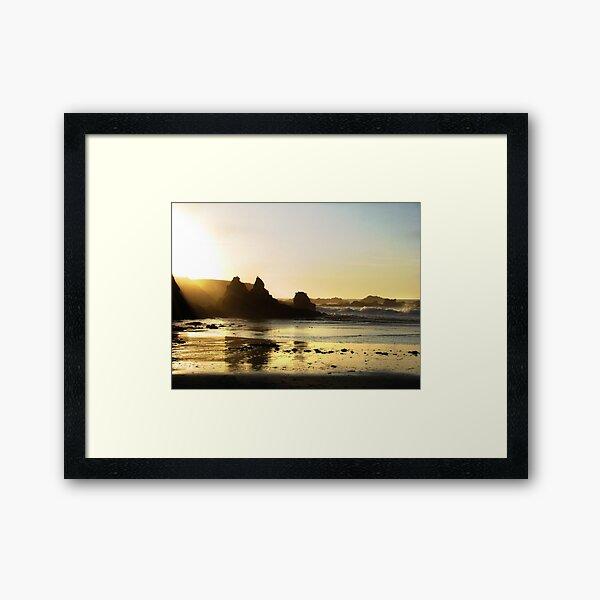 Mendocino Sunset Framed Art Print