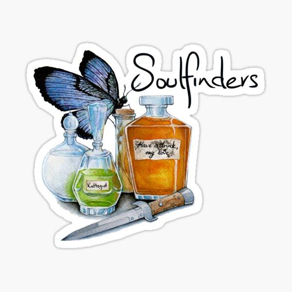 Soulfinders Poison Bottles Sticker