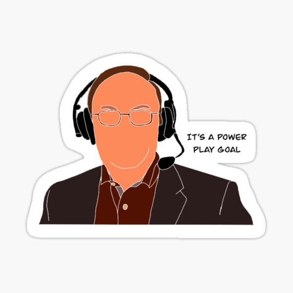 Sam Rosen: It's A Power Play Goal Sticker