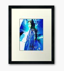 Widow with Shawl Framed Print