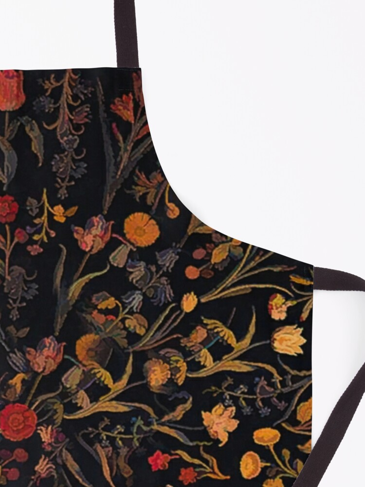 Alternate view of Midnight Floral Apron