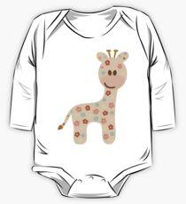 Baby giraffe One Piece - Long Sleeve
