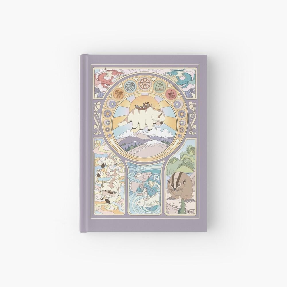 Team Avatar and Original Benders, Art Nouveau Hardcover Journal