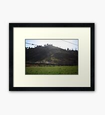 Barbed Wire Sky Framed Print