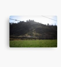 Barbed Wire Sky Canvas Print