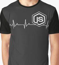 Node.js Heartbeat T-shirt & Hoodie Graphic T-Shirt