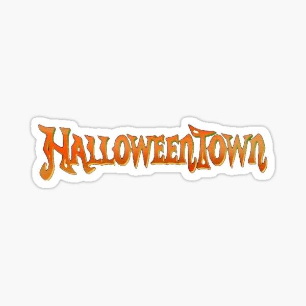 Halloweentown logo Sticker