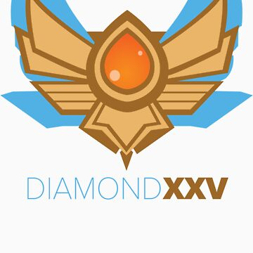 Diamond XXV Tier by sebphillips