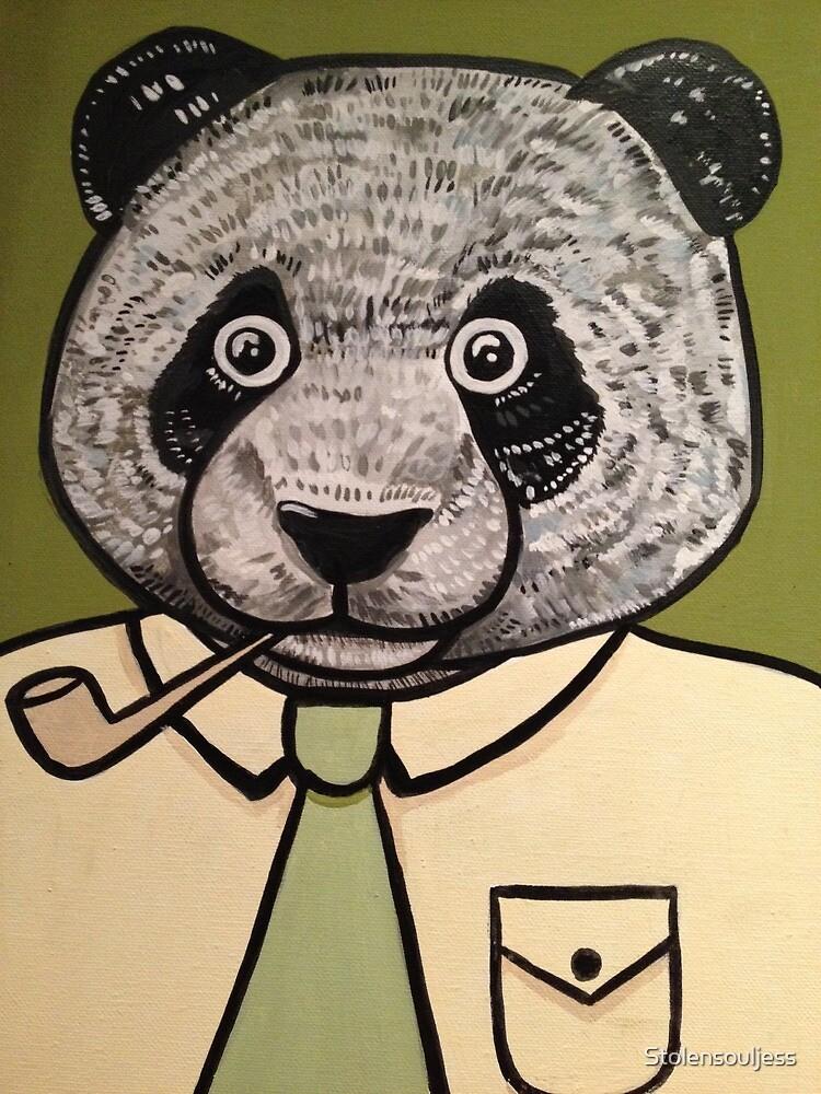 Panda Dad faces Retirement  by Stolensouljess