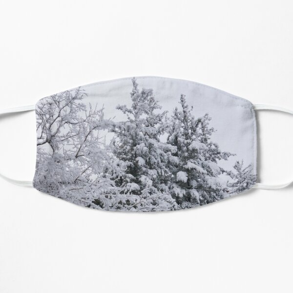 Snowy Forest Mask