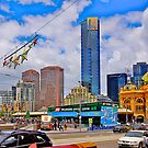Melbourne-old and new. by johnrf