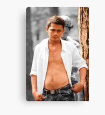 Anthony Walk In The Forest prep Canvas Print