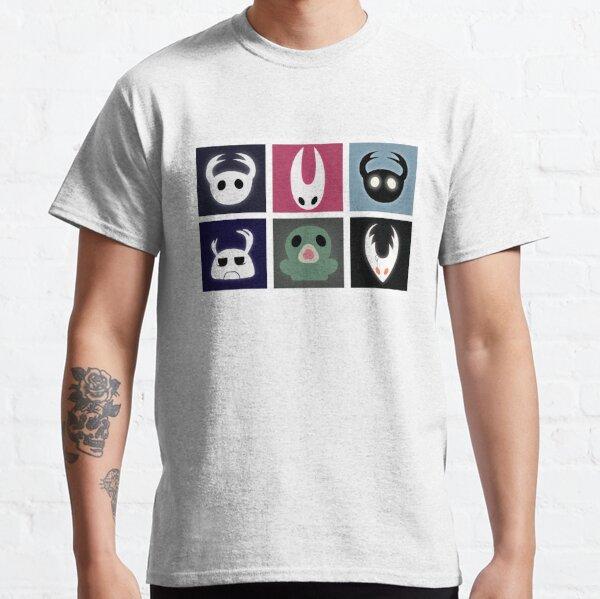 Hollow Knight Heads Camiseta clásica