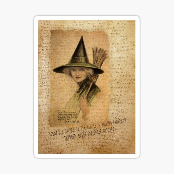 Charming Witch Sticker
