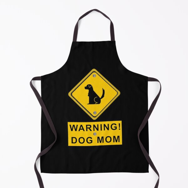 Funny Dog Mom Apron