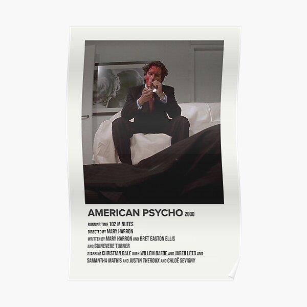 psicópata americano (2000) Póster