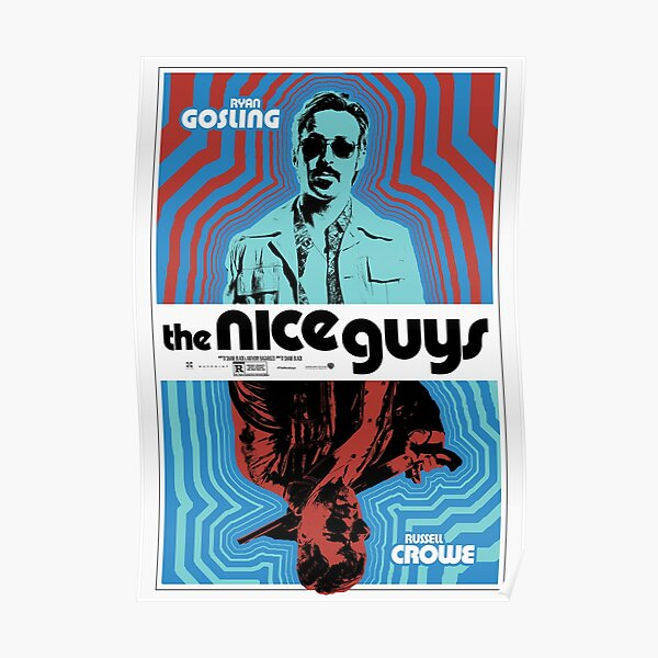 Le graphique Nice Guys Detectives Poster