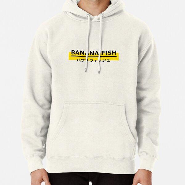 Banana Fish Logo Sudadera con capucha
