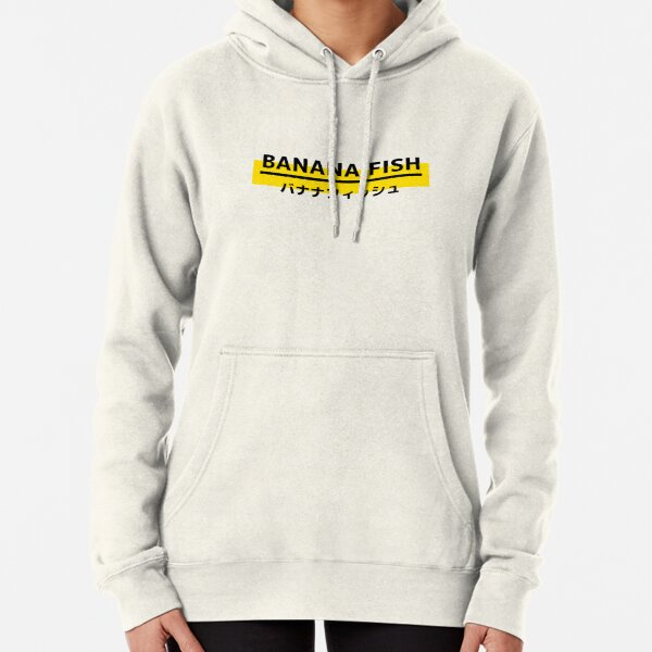 Banana Fish Logo Sweat à capuche épais