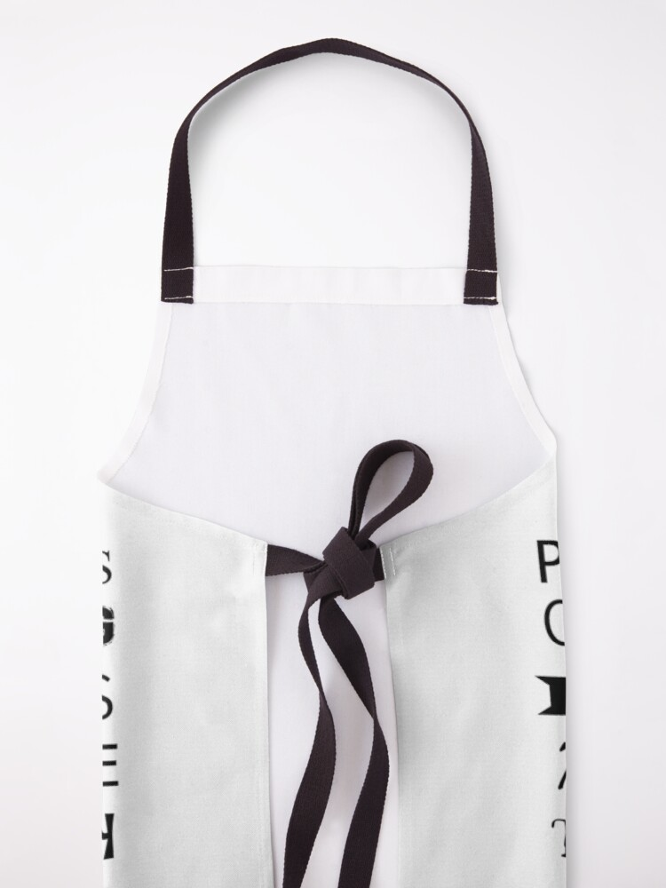 Alternate view of POTTERY GLOSSARY T-SHIRT Apron