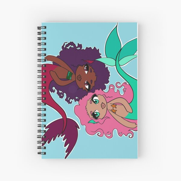 Mer-sisters Spiral Notebook