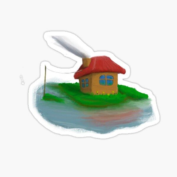 Waterside Cottage Sticker