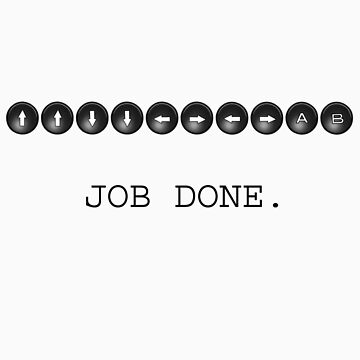 Konami Code - Job Done by CreatoreMagico