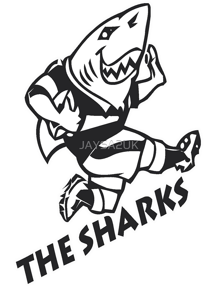 NATAL SHARKS FOR DARK SHIRTS SOUTH AFRICA RUGBY SUPER RUGBY by JAYSA2UK