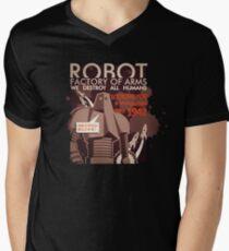 Asimov sucks Men's V-Neck T-Shirt