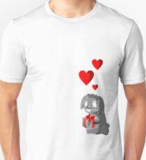 The Valentine Bunny Unisex T-Shirt