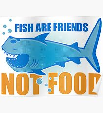 fish are friends Poster