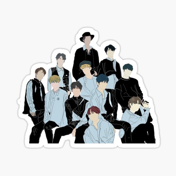 The Boyz Reveal  Sticker