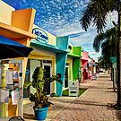 Colorful Storefronts by Bill Wetmore