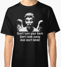 Weeping Angel, Don't Blink... Classic T-Shirt