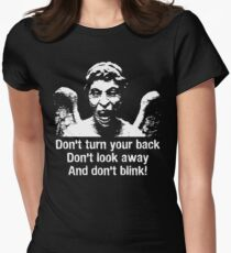 Weeping Angel, Don't Blink... Women's Fitted T-Shirt