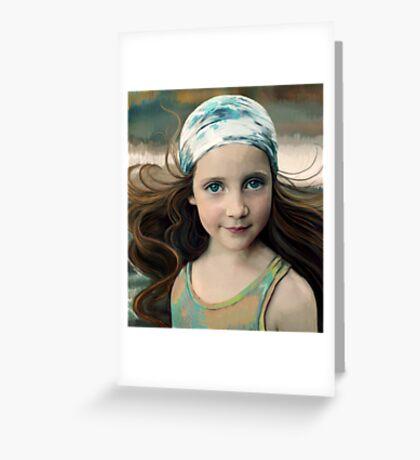 Dancer at Dusk Greeting Card