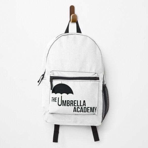 Umbrella Academy, familia Hargreeve, negro Mochila