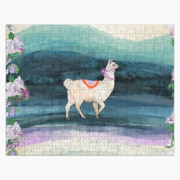 A LLAMA IN THE WILDERNESS Jigsaw Puzzle