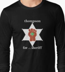 Hunter S Thompson, Gonzo Fist  Long Sleeve T-Shirt